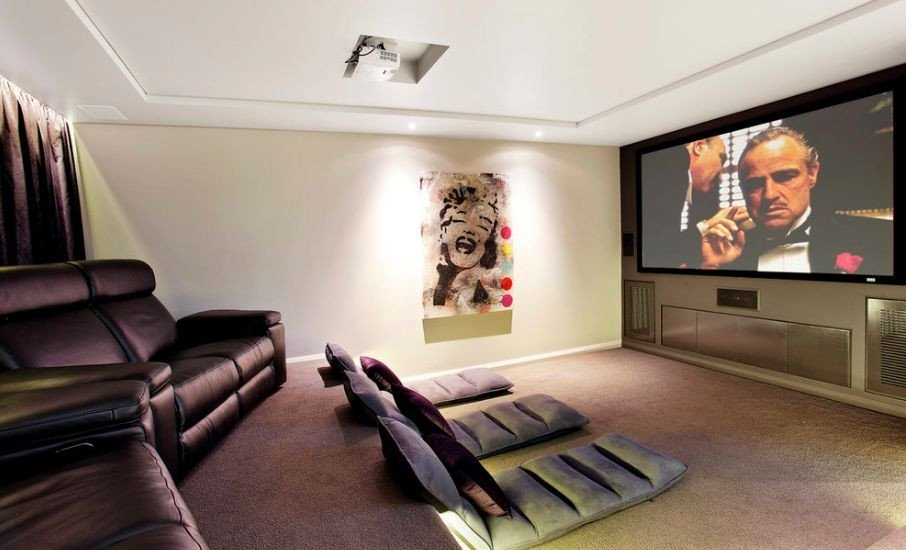Comfortable Living Roomfor Movie Watching Get Fy with Floor Cushions and Serenity Will Follow