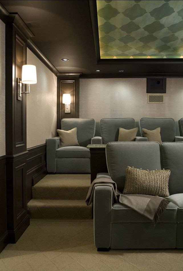 Comfortable Living Roomfor Movie Watching Love This Elegant yet fortable