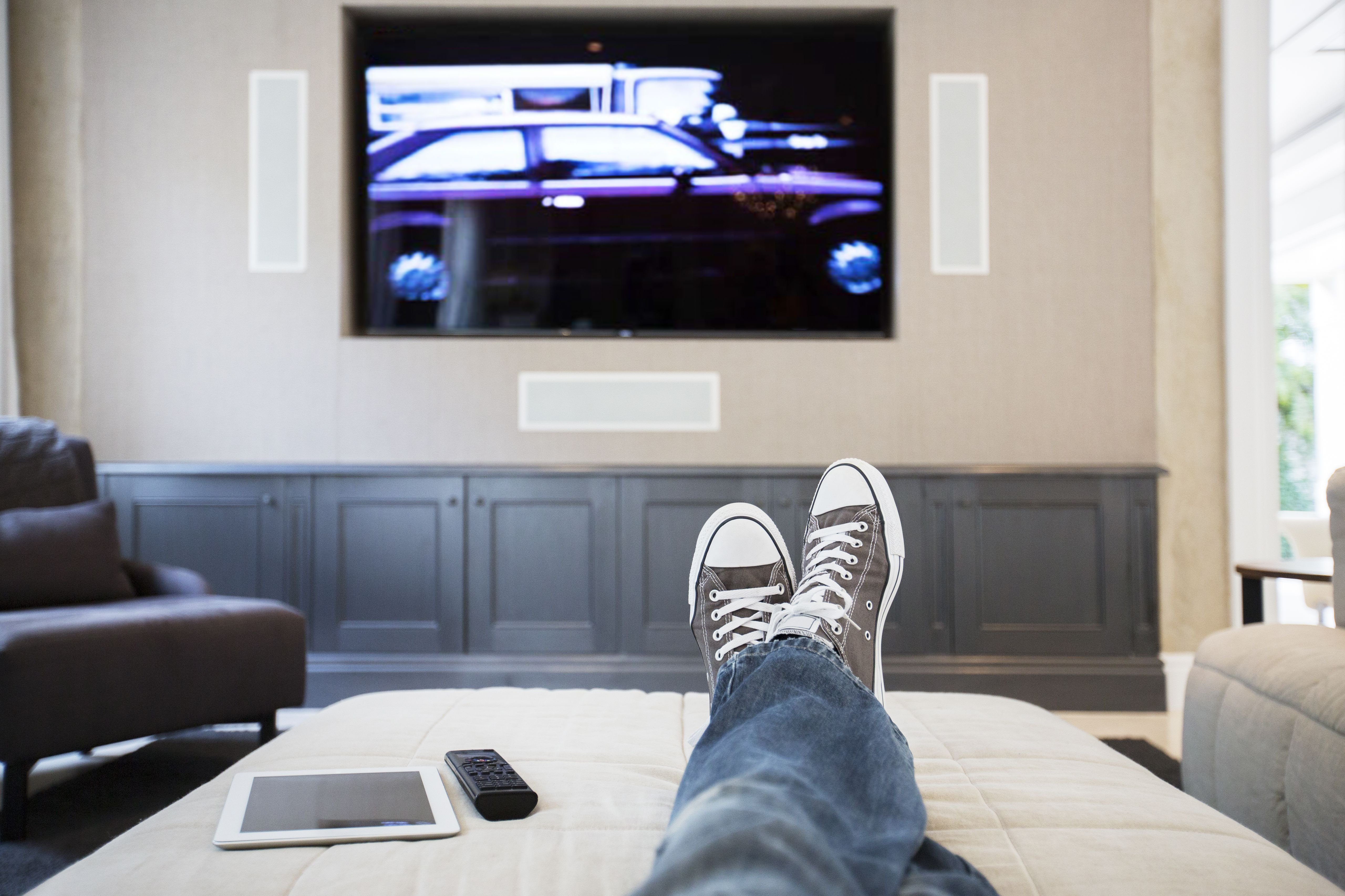 Comfortable Living Roomfor Movie Watching What is the Best Viewing Distance to Watch A Tv From