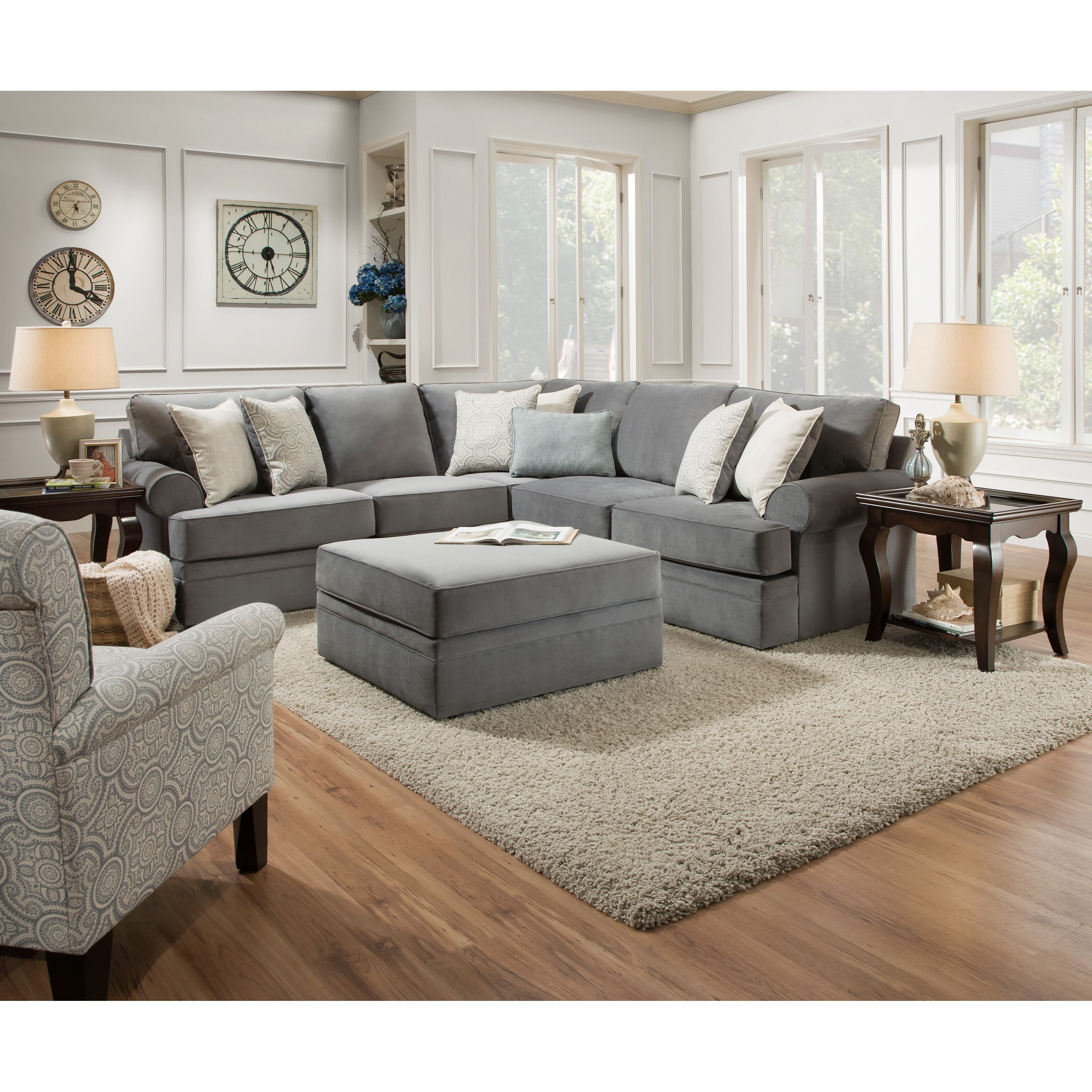 Comfortable Living Roomfurniture Furniture Excellent Simmons Upholstery sofa for
