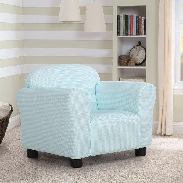Comfortable Living Roomfurniture Shop Costway Green Kids sofa Armrest Chair Children