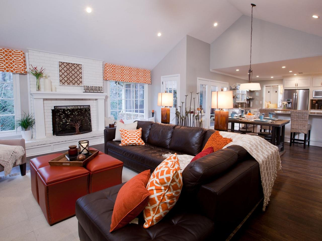 Comfortable Open Living Room S Property Brothers