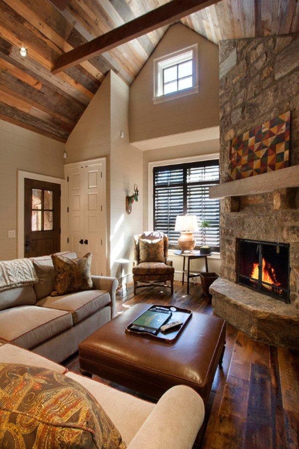 Comfortable Rustic Living Room 35 Classy Rustic Living Room Design Ideas Interior Vogue