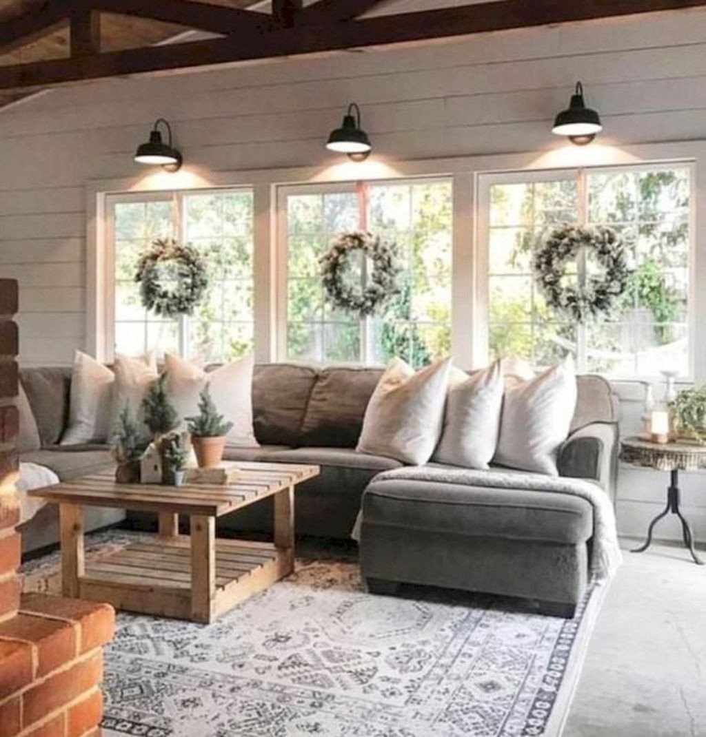 Comfortable Rustic Living Room 44 Beautiful Rustic Farmhouse Living Room Design Ideas