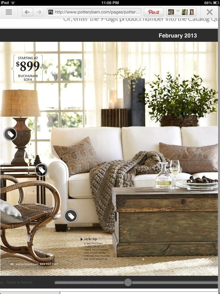 Comfortable Rustic Living Room Casual and fortable organic Rustic Styling Can Be