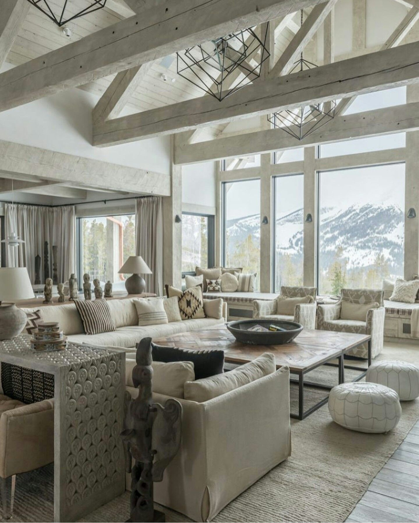 Comfortable Rustic Living Room fortable Neutral Living Room by Shabby Chic Interiors
