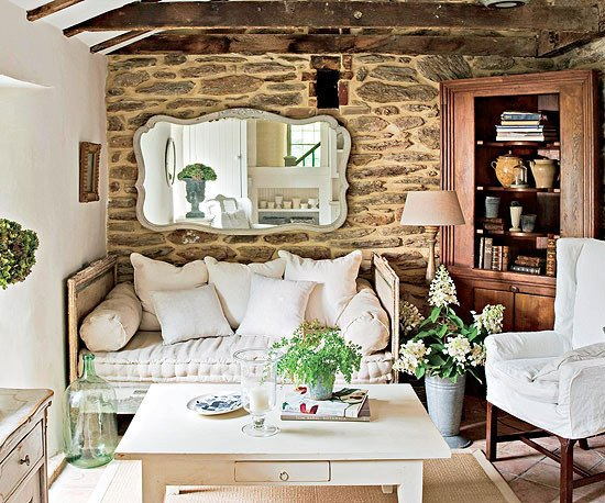 Comfortable Rustic Living Room Modern Furniture 2013 Country Living Room Decorating