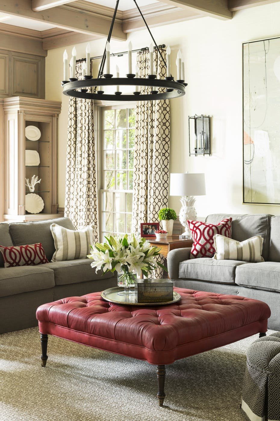 Comfortable Traditional Living Room Traditional Living Room fortable and Inviting by