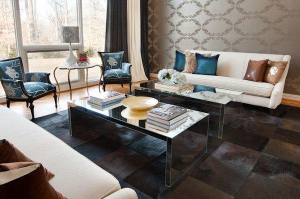 Comfortable Unique Living Room Interior Decorating Idea 2012 09 16