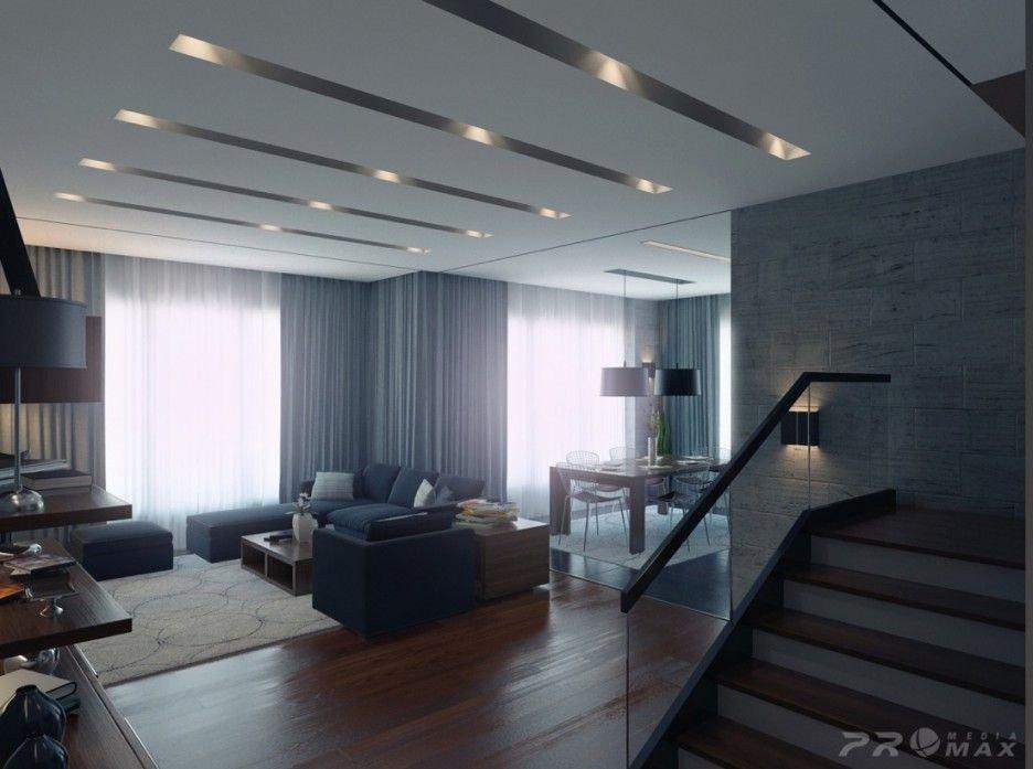 Contemporary Apartment Living Room Apartment Interior Modern Apartment Interior Design Ideas