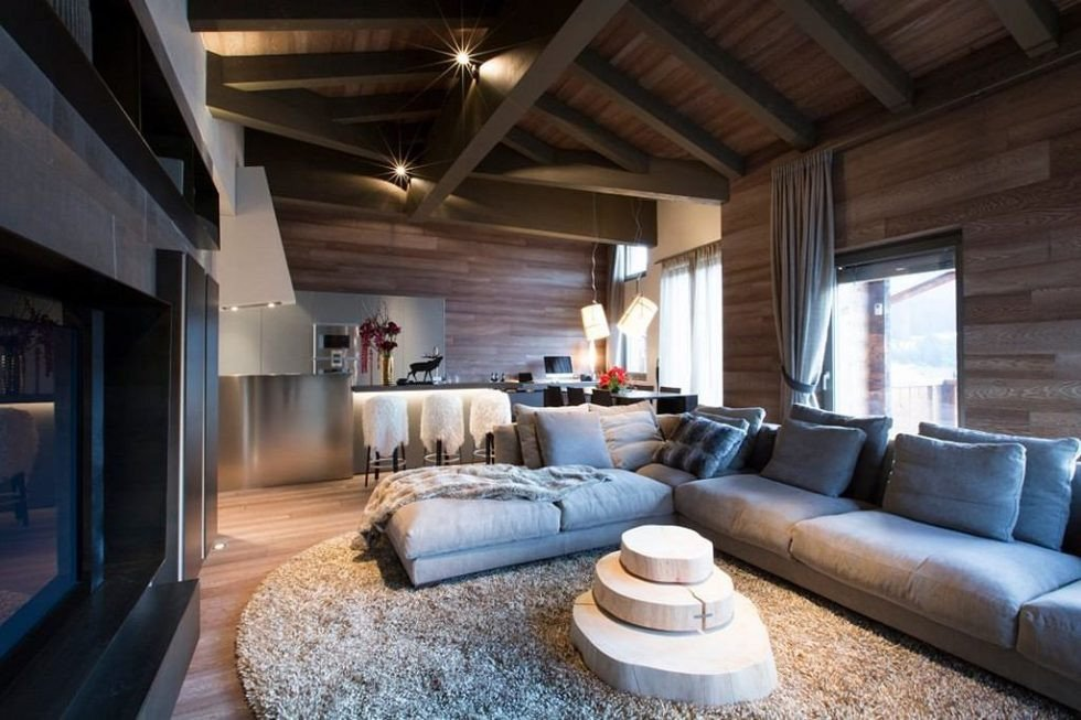 Contemporary Apartment Living Room Modern Apartment In Switzerland Fresh Ideas and Curious