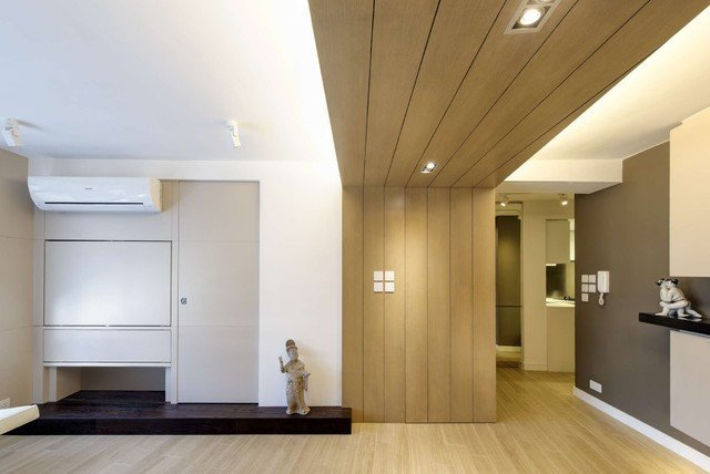 Contemporary Apartment Living Room Modern Small Warm Apartment Contemporary Living Room