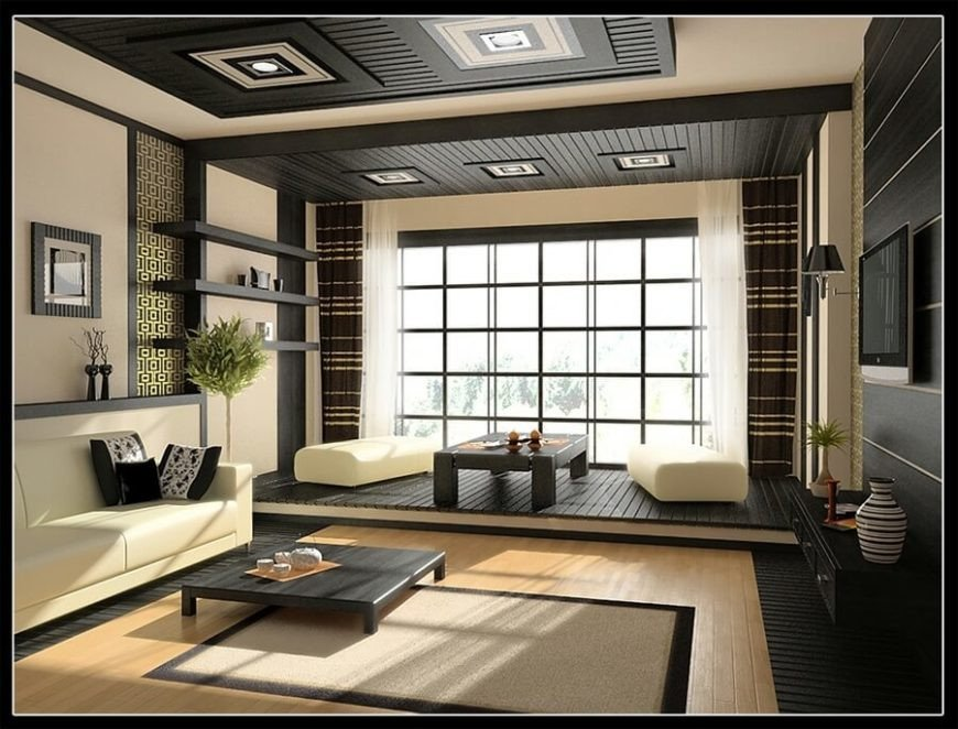Contemporary asian Living Room 14 Stunning asian Living Room Ideas