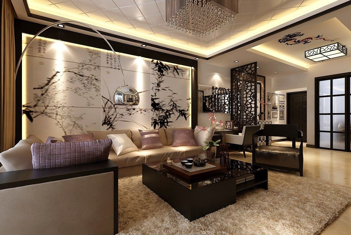 Contemporary asian Living Room asian Inspired Living Room Ideas
