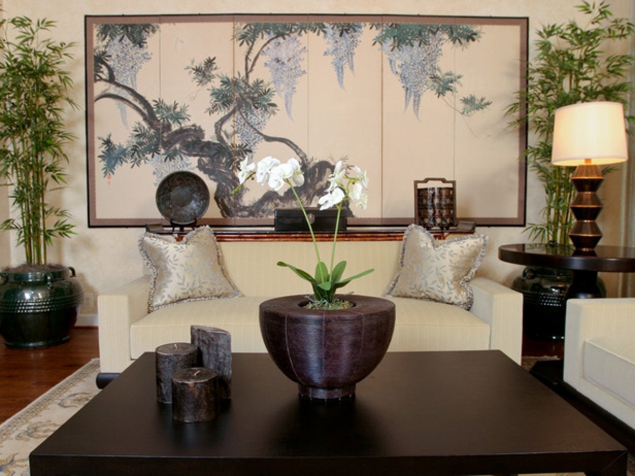 Contemporary asian Living Room Contemporary asian Furniture asian themed Room Ideas