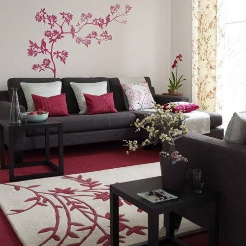 Contemporary asian Living Room Modern asian Living Room Decorating Ideas