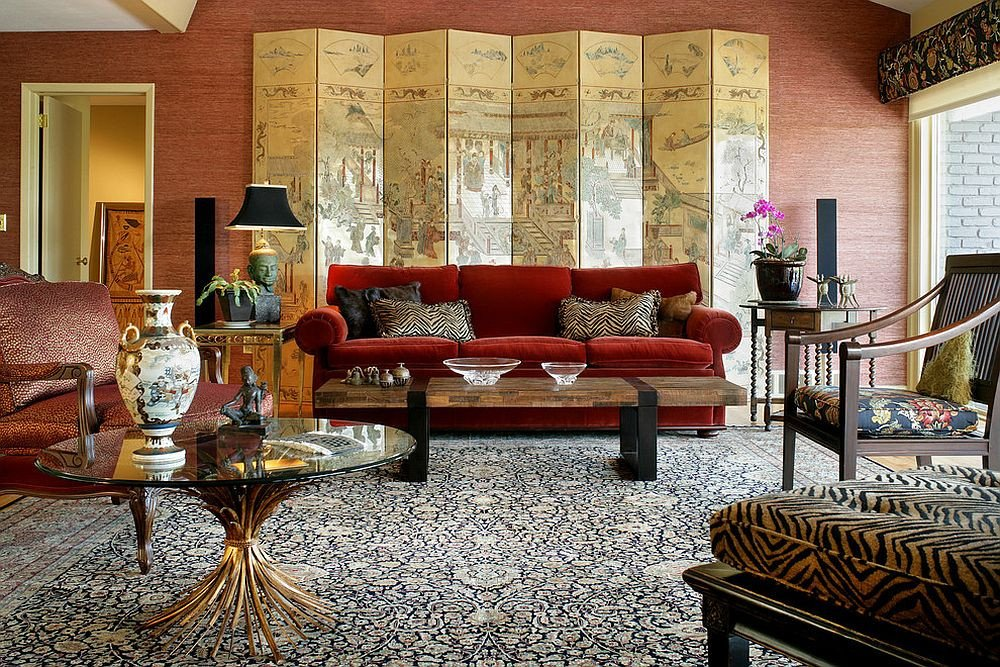 Contemporary asian Living Room Vibrant Trend 25 Colorful sofas to Rejuvenate Your Living