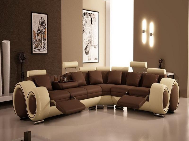 Contemporary Brown Living Room 24 Best Color to Paint A Living Room with Brown sofa