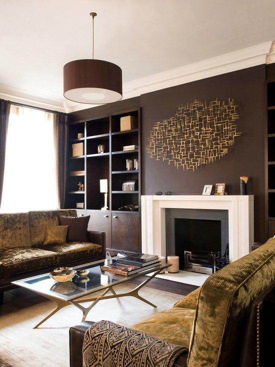 Contemporary Brown Living Room 80 Ideas for Contemporary Living Room Designs