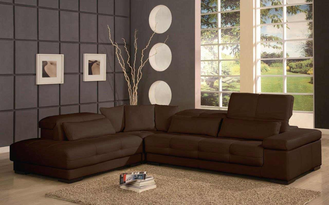 Contemporary Brown Living Room Affordable Contemporary Furniture for Home