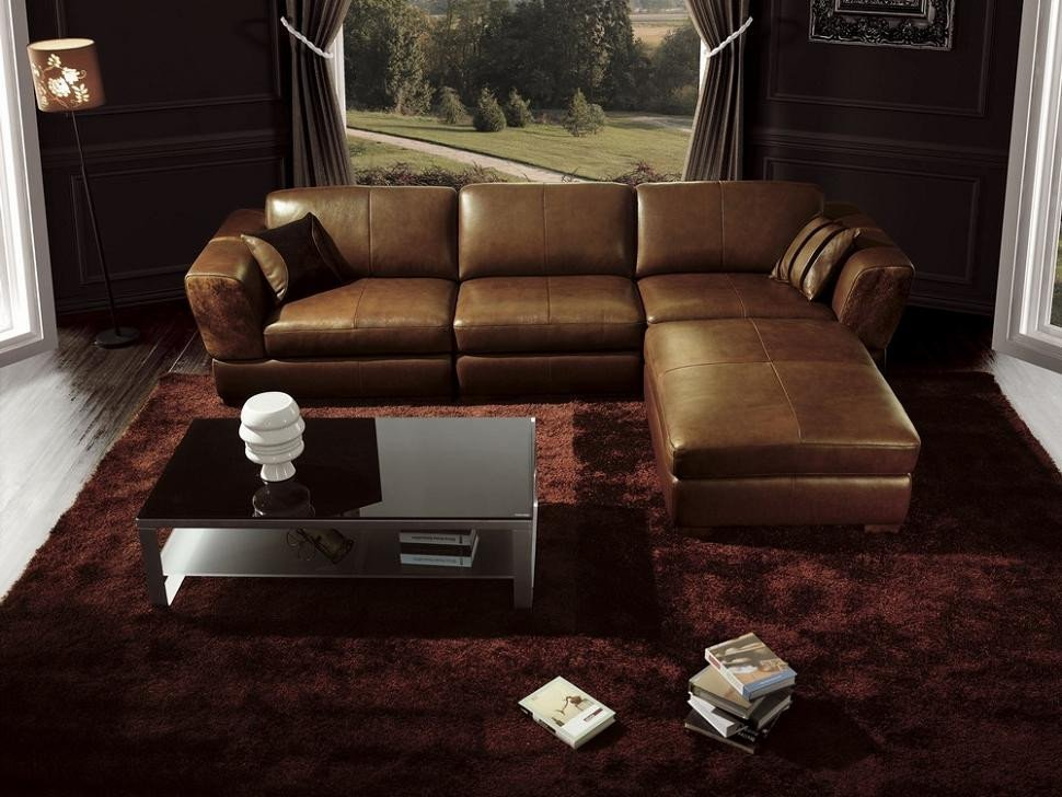 Contemporary Brown Living Room Bo3960 Contemporary Brown Leather Living Room Furniture