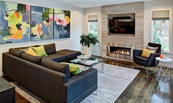 Contemporary Chic Living Room 15 Modern Chic Living Room Interior Design Ideas