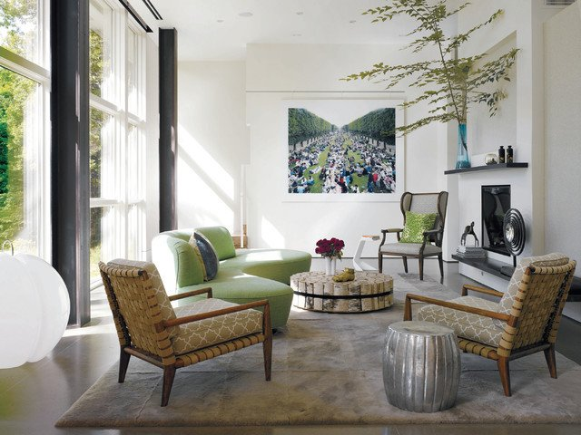 Contemporary Chic Living Room Country Chic Living Room Modern Living Room New York