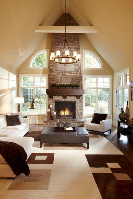 Contemporary Chic Living Room Urban Chic Contemporary Living Room by