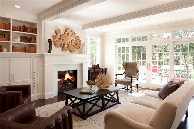 Contemporary Country Living Room Contemporary Country Living Room Traditional Living
