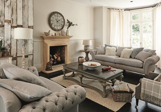 Contemporary Country Living Room Five Living Room Style Ideas