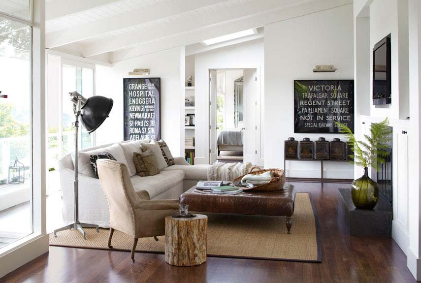 Contemporary Country Living Room How to Blend Modern and Country Styles within Your Home S