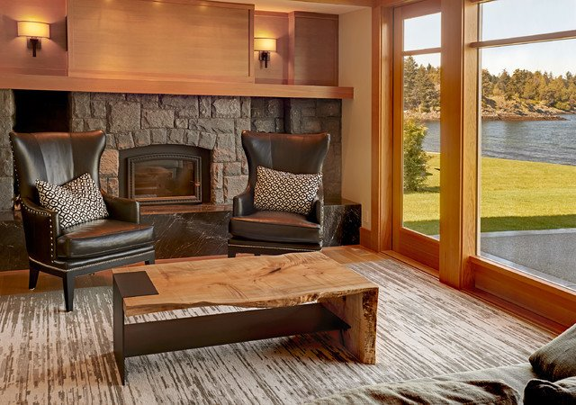 Contemporary Country Living Room Live Edge Modern Country Home tour Contemporary Living