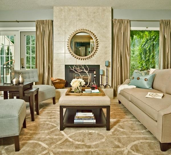 Contemporary Country Living Room Modern Country Interiors Furniture & Design Eclectic