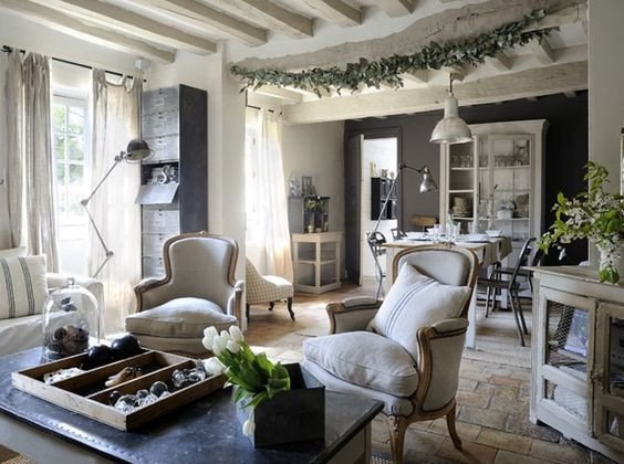 Contemporary Country Living Room Modern Country Style Modern Country Living Room Floors