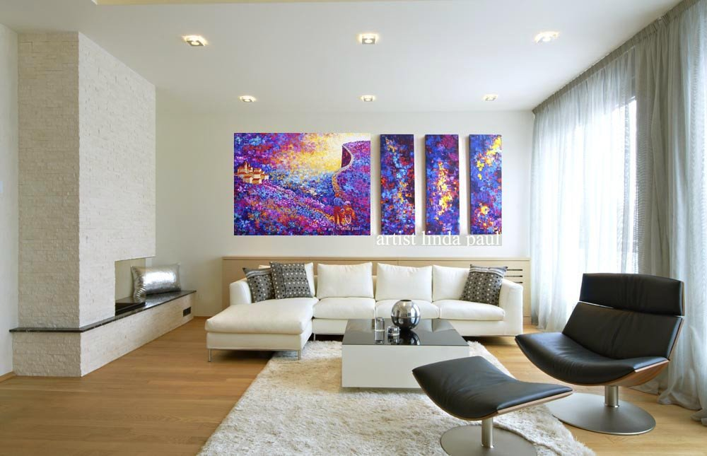 Contemporary Living Room Art 20 Stunning Living Rooms with Artwork