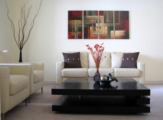 Contemporary Living Room Art Contemporary Abstract Paintings Modern Living Room