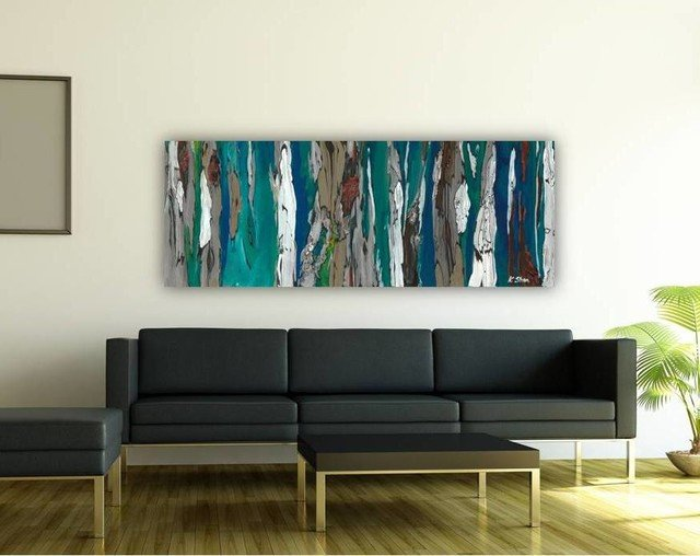 Contemporary Living Room Art Contemporary Modern Artwork In Living Room Dining Room