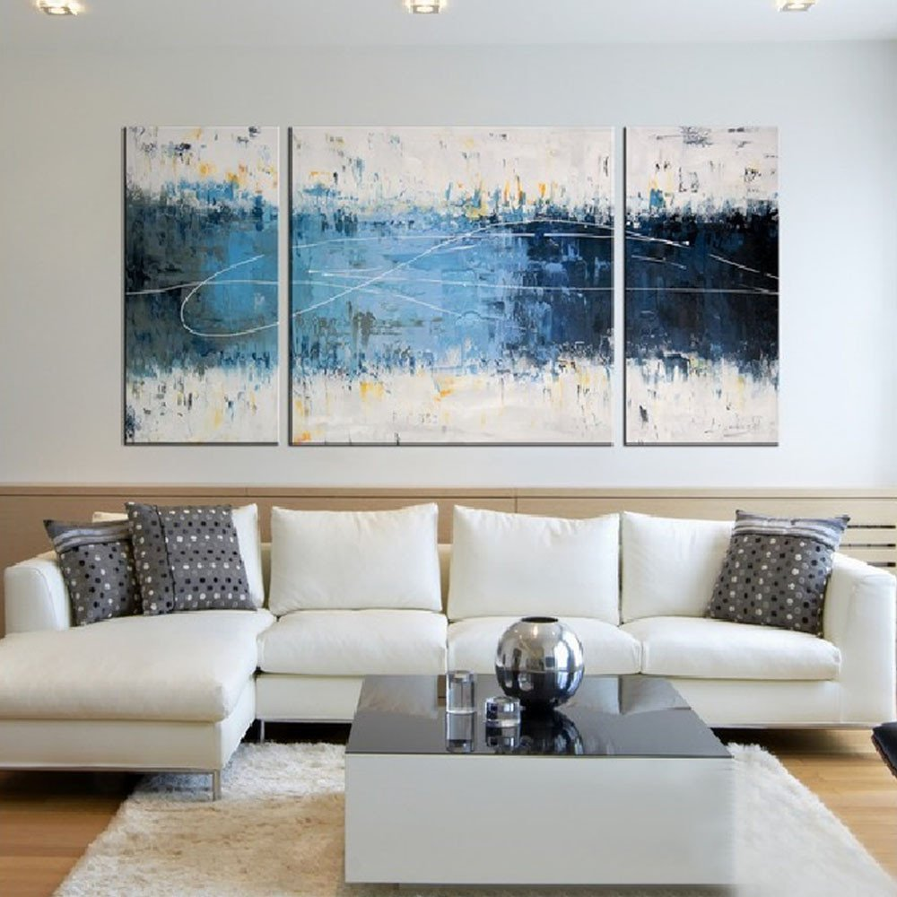 Contemporary Living Room Art Iarts Contemporary Paintings Canvas 3 Styles Canvas