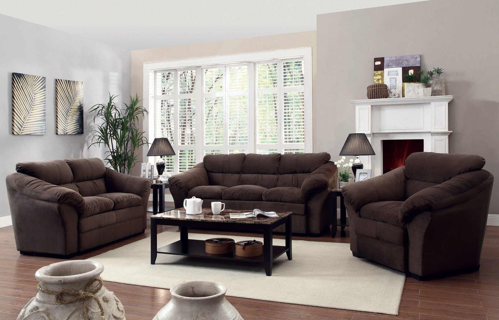 Contemporary Living Room Benches Arrangement Ideas for Modern Living Room Furniture Sets