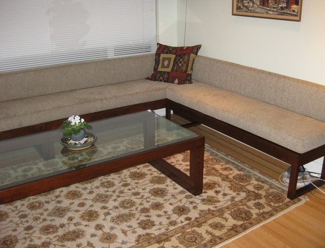 Contemporary Living Room Benches Living Room Bench Seating and Coffee Table Contemporary