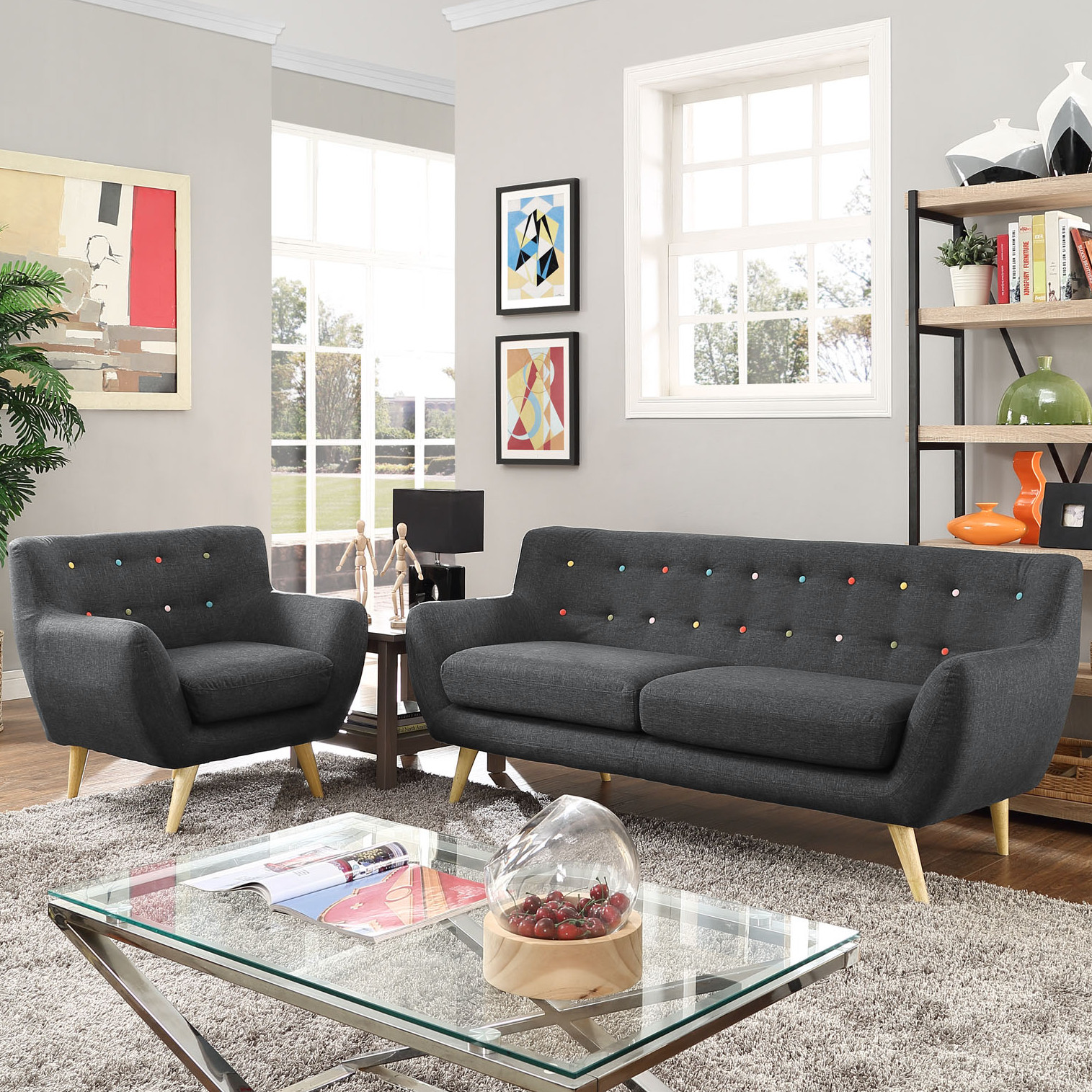 Contemporary Living Room Benches Modern & Contemporary Living Room Furniture