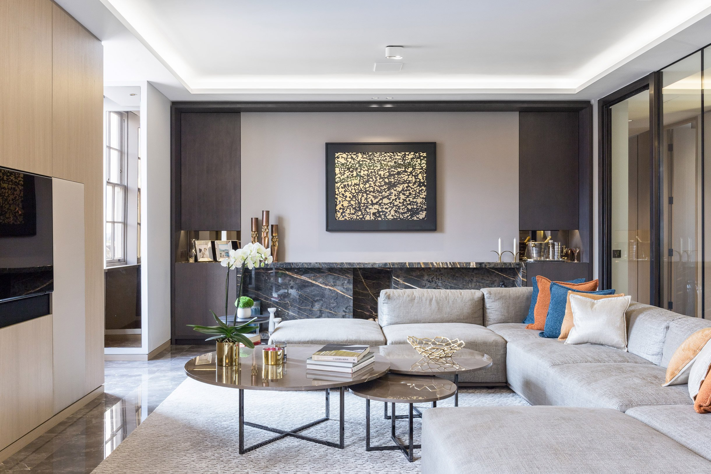 Contemporary Living Room Colors Beautiful Contemporary Living Room Design
