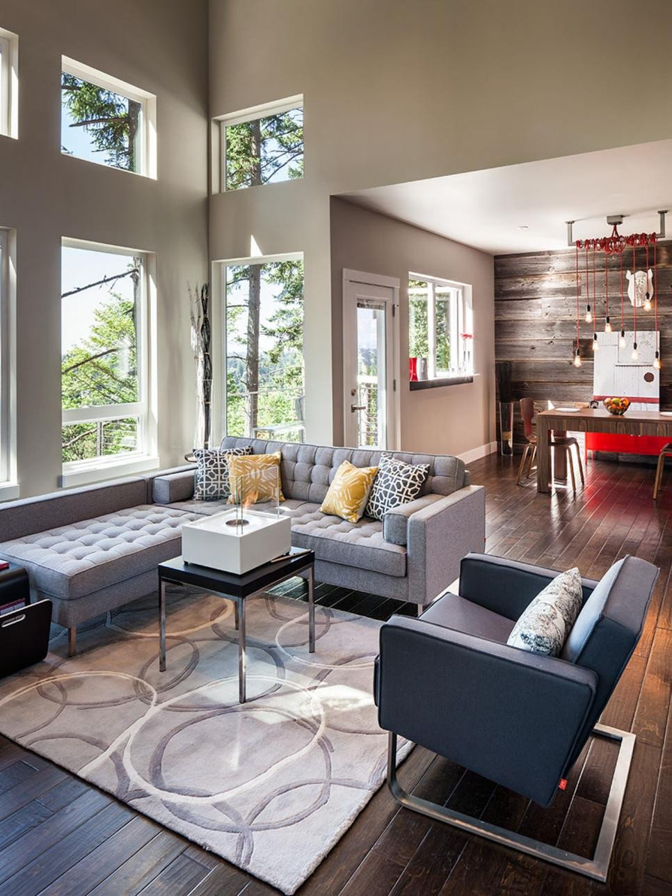 Contemporary Living Room Colors New Ways to Use Fall S Trending Colors