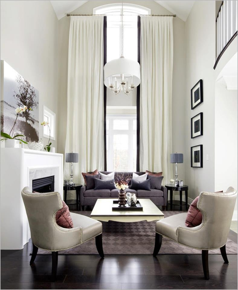 Contemporary Living Room Curtains 2013 Luxury Living Room Curtains Designs Ideas