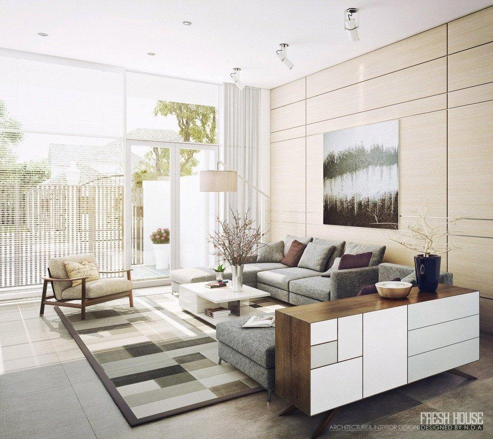 Contemporary Living Room Decorating Ideas Light Filled Contemporary Living Rooms