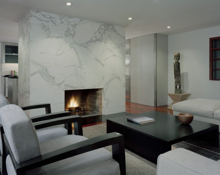 Contemporary Living Room Fireplace 10 Beautiful Rooms with Marble Fireplaces