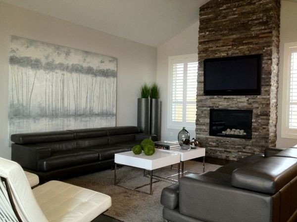 Contemporary Living Room Fireplace 100 Fireplace Design Ideas for A Warm Home During Winter