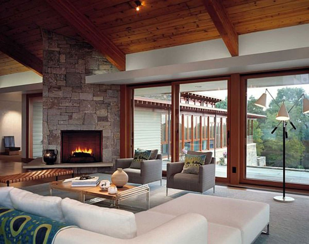 Contemporary Living Room Fireplace 16 Modern Living Room Designs Decorating Ideas