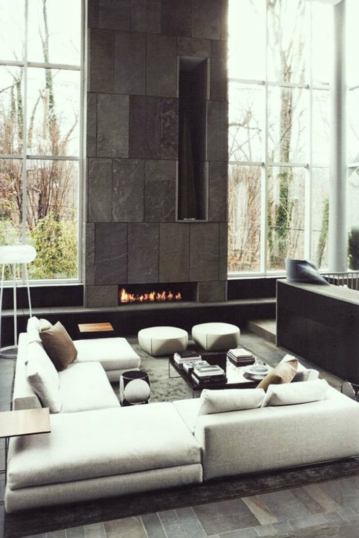 Contemporary Living Room Fireplace Contemporary Fireplaces for Luxury Living Rooms