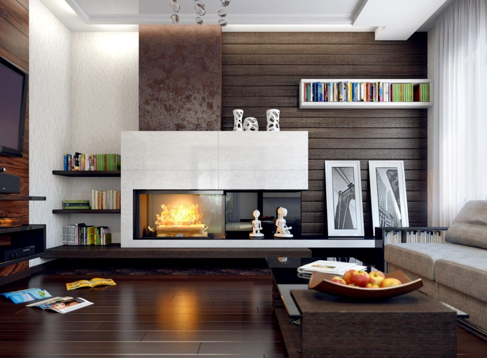 Contemporary Living Room Fireplace Modern Fireplace Mantel Ideas Living Room